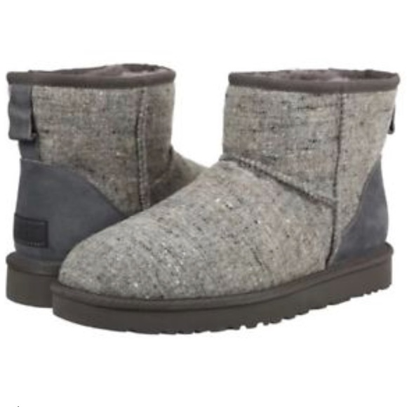 9d2d893cc5a NWOT Mens Classic Mini Donegal Winter Boot